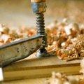 copeaux bois atelier menuisier