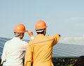 Gérant d'une entreprise d'installation solaire
