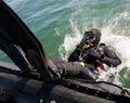 Plongeur dans la marine