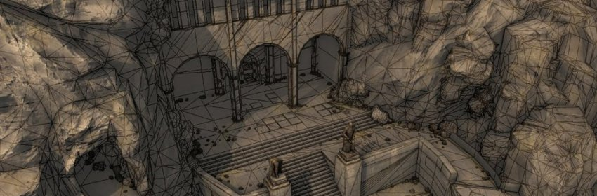 scene 3D numérique