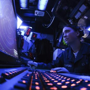 Détecteur dans la marine