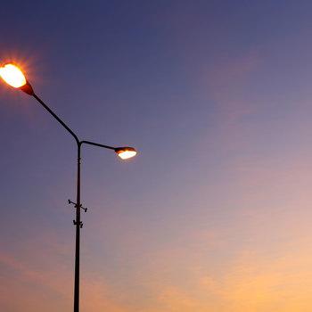Electricien d'éclairage public