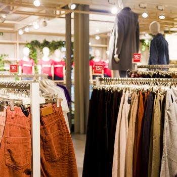 gérant boutique vêtement