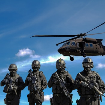 """Militaire au sein du groupe """"Special Forces"""""""