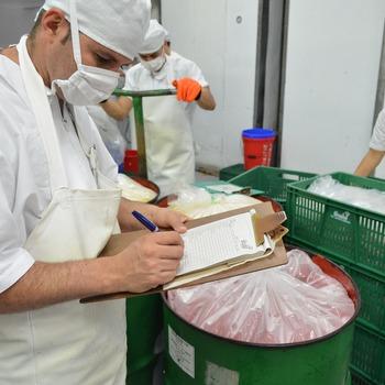 Responsable de production en industrie alimentaire