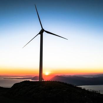 Technicien de maintenance d'éolienne