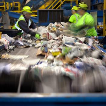 Trieur·euse de déchets